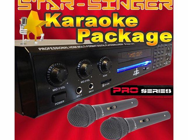 StarSinger 1000 Pro II - Family Karaoke Machine / Player ...