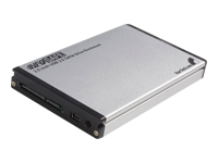 STARTECH .com InfoSafe 2.5 USB 2.0 Extra SATA Enclosure for SAT2510U2REM Laptop Hard Drive product image
