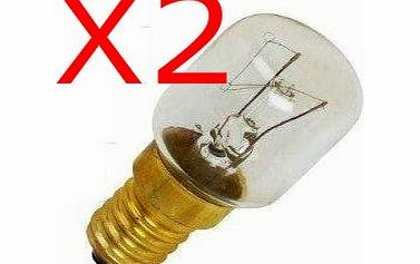 Status 2x FRIDGE / FREEZER APPLIANCE LIGHT BULB 15W E14/SES PIGMY LAMP LIGHT BULB product image