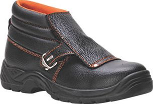Steelite, 1228[^]1336H FW07 Safety Welders Boots Black Size 11