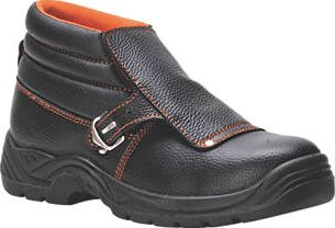 Steelite, 1228[^]6489H FW07 Safety Welders Boots Black Size 7