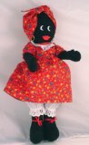 LE 25 Charming Rosie Golly Doll Red Floral Dress