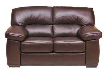 Steinhoff furniture lexington leather 2 seater sofa in for Furniture quick delivery