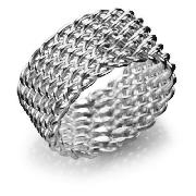 Sterling Silver Mesh Weave Ring, Medium product image