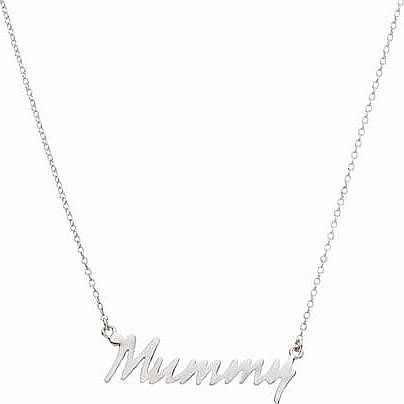 Sterling Silver Mummy Necklet product image