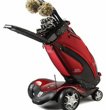 F1 Lithium Electric Golf Trolley Red