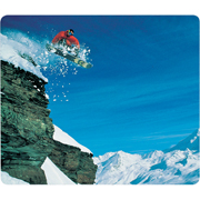 Stewart Superior Snowboarder Mouse Mat product image