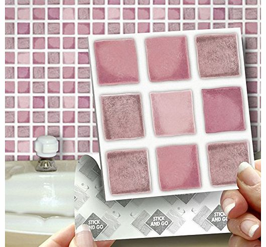 Kitchen Interior With Pink Furniture And Tiles Stock: Tile Size 60 X 60 Cm Tile Suitability Kitchen And