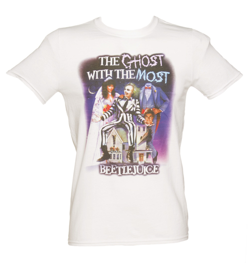 Mens Ghost With The Most Beetlejuice T-Shirt