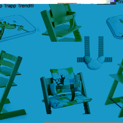 stokke tripp trapp trend package 4 tripp trapp. Black Bedroom Furniture Sets. Home Design Ideas