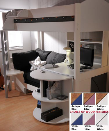 Stompa Casa 4 Loft Bed With Desk And Sofa Bed Review