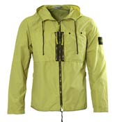 Stone Island Light Green Hooded Jacket - review, compare ...