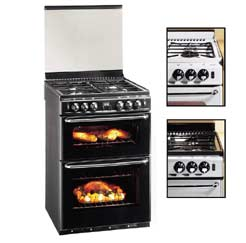 silver double ovens used ovens hobs cookers for sale in united kingdom