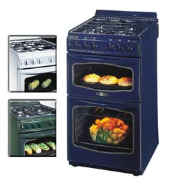 stoves 600sidlm green 60cm gas cooker gas free standing ovens