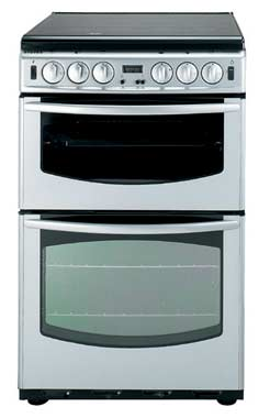 NEWHOME 600mm Slide 600SIDOm Silver Cooker STOVES NEWHOME 600mm