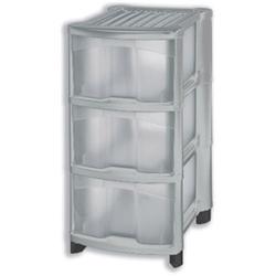 4 drawer storage box. Black Bedroom Furniture Sets. Home Design Ideas