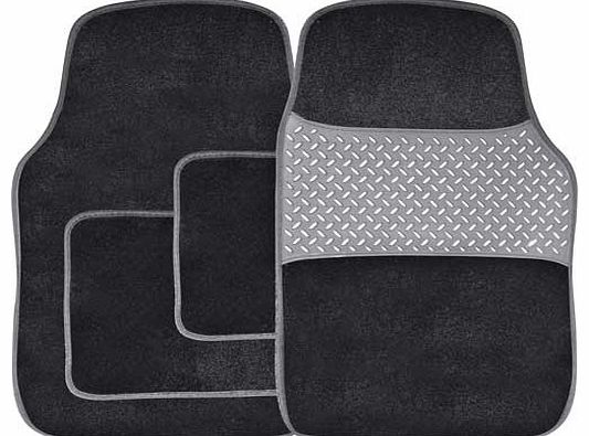 Set of 4 Carpet Car Mats