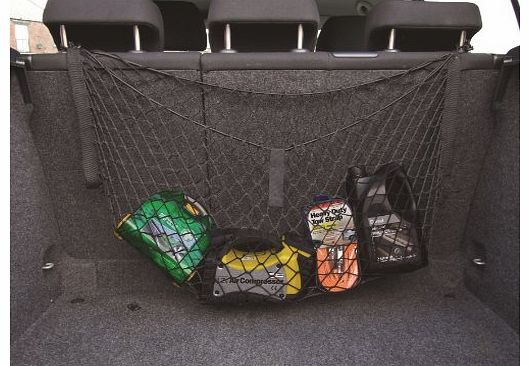 Cargo tidy net.... . Easy to install.... . Simply attaches to the headrest posts... . Great for stopping items in your boot from rolling around.... . Holds luggage, shopping, car (Barcode EAN = 5026637626555). - CLICK FOR MORE INFORMATION