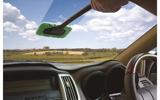 Windscreen Clean and Shine cleaning cloth glass cleaner demister wiper