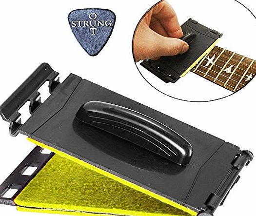 Strungout Dual Guitar String amp; Fretboard Cleaner for Electric amp; Acoustic Guitars product image