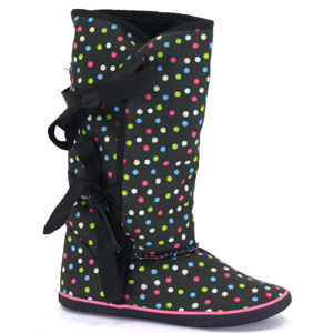 Sugar Shoes Sugar - Morigami Polka Dot - Black / Multi