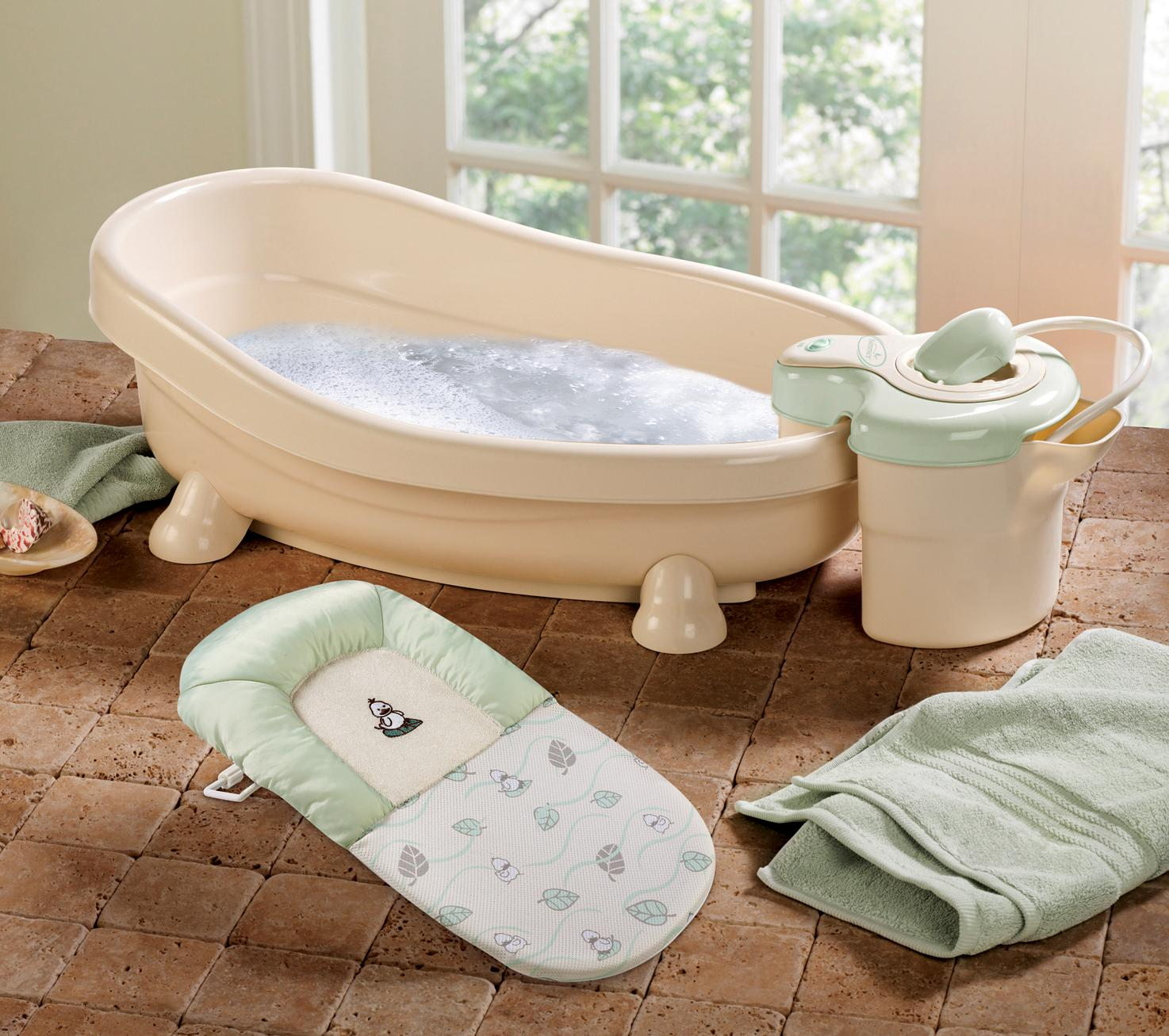 summer infant soothing spa and shower baby bath equipment summer infant lil luxuries 174 whirlpool bubbling spa