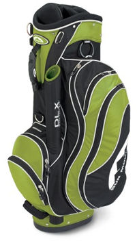 Mountain Golf SCB Deluxe Ladies Trolley Bag Black/Lime