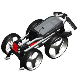 Sun Mountain Microcart 4-Wheel Push Cart The Sun Mountain Microcart 4-Wheel Push Cart features features a lightweight aluminum frame with a low center of gravity for superior stability. The cart folds and unfolds effortlessly for easy storage and use - CLICK FOR MORE INFORMATION
