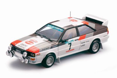 Audi Quattro Rally - M.Mouton / F.Pons Winner