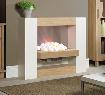 Suncrest Surrounds Cubic Electric Fireplace Fires & Fireplace - review, compare prices, buy online