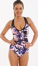 Sunseeker, 1295[^]264663 Miami Heat Racer One Piece - Papaya