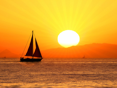 Sunset Sailing For Two product image
