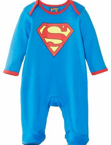 Super Baby Boys Sleepsuit Blue 6 - 9 Months