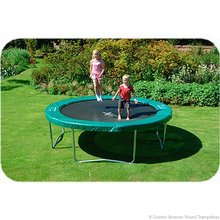 Cosmic Bouncer Round Trampolines