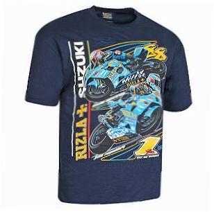 Merchandise Auto Racing Motorsports Sports on Superbike Merchandise Rizla Suzuki Fan T Shirt Motorsport Gift