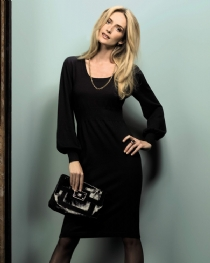 superfine Bell Sleeved Dress product image