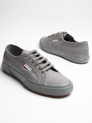 mens shoes superga classic grey shoes