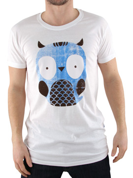 Supreme Being White Owl Organic T-Shirt product image
