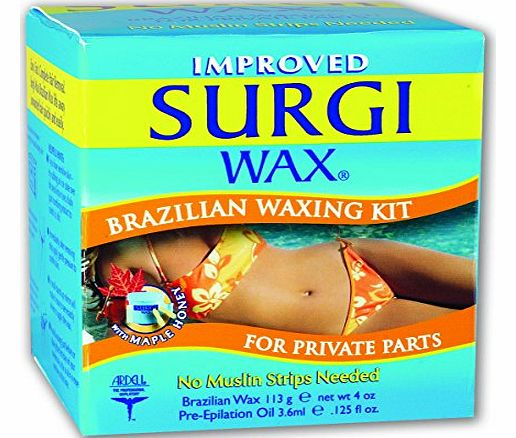 Surgi Wax Brazilian Waxing Kit 113g and 3.6ml product image