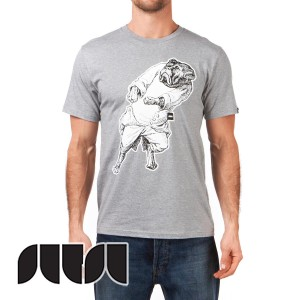 Sutsu T-Shirts - Sutsu The Boxer T-Shirt - Grey product image