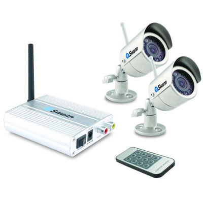 Swann W-P-WOC2 Wireless Outdoor Camera 2 Pack - Security Systems
