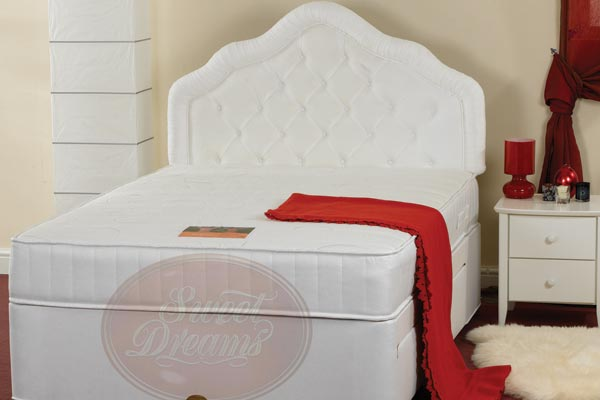 Restful sleep specification a coolmax bed 30mm memory foam for Memory foam double divan bed sale