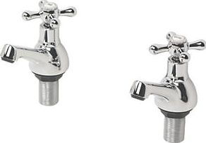 Swirl, 1228[^]93716 Bath Taps Pair 93716
