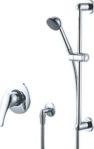 Swirl, 1228[^]63242 Built-In/Exposed Manual Mixer Shower Fixed
