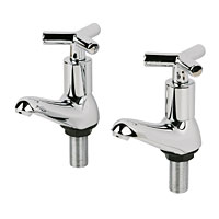 High quality taps with smooth quarter-turn action. Durable Chrome-Plated Brass Bodies1/4 Turn Operat - CLICK FOR MORE INFORMATION