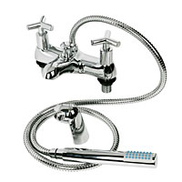 High quality taps with smooth quarter-turn action. Heavy, Chrome-Plated Brass with Satin Detailing1/ - CLICK FOR MORE INFORMATION