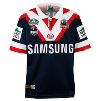Roosters Away Rugby Shirt.