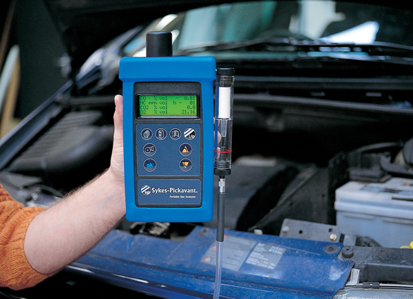 sykes-pickavant Portable 5 Gas Analyser Kit - product image