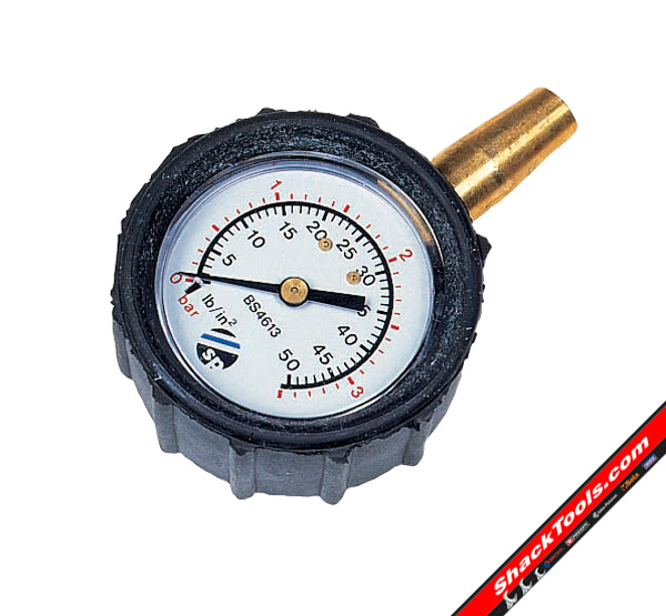 sykes-pickavant Tyre Pressure Gauge (Dial) - review, compare prices, buy online