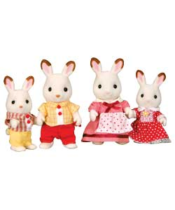 - Chocolate Rabbit Family